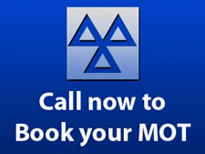 Call us to book your MOT