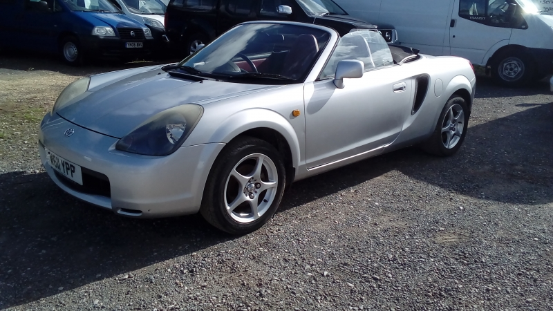 Toyota MR2 Roadster VVTi MY2000 Spares/Repair