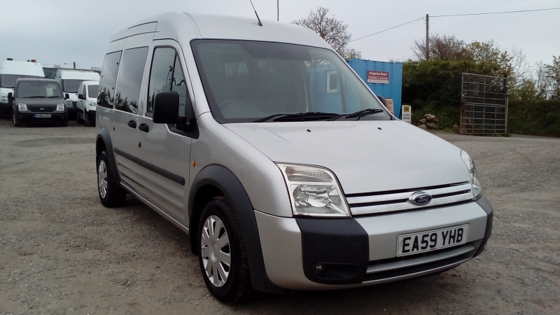 Ford Tourneo Connect T230 LX90 LWB Hi-Top 73k FSH New MOT 2009 Finance Available Subject to Status