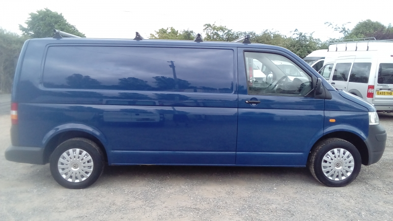 Volkswagen Transporter 1.9TDi PD T30 ( 102PS ) LWB T5 Tailgate Model 2007