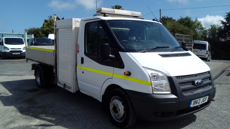 Ford Transit 2.2TDCi 125PS EU5 RWD 350 MWB Dropside Tipper 2012 Finance available subject to Status