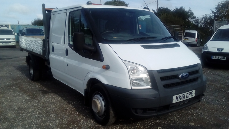Ford Transit 2.4TDCi Duratorq 115PS (DRW) 350 LWB Tipper 2011 Finance available subject to Status