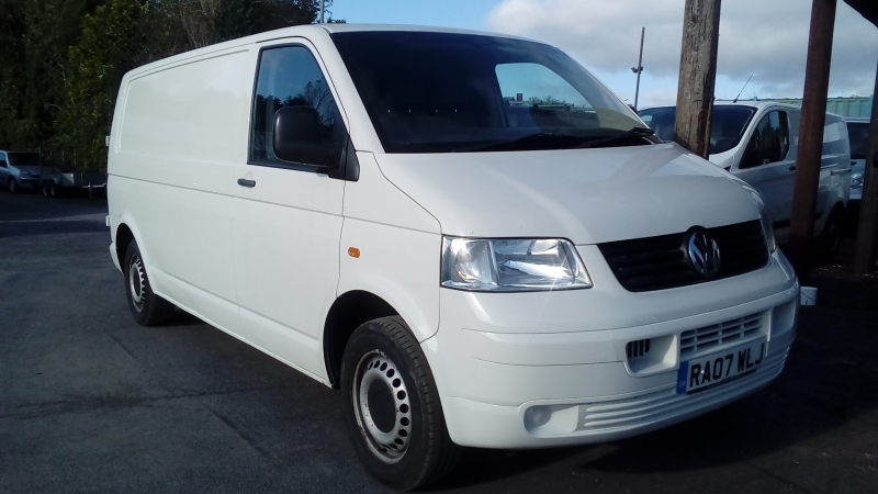 Volkswagen Transporter 1.9TDi PD ( 102PS ) LWB T30 / T5 FSH 2007 Finance available subject to Status