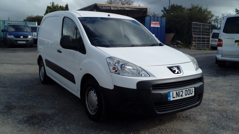 Peugeot Partner 1.6HDi ( 92 ) 850 S L1 2012 Finance available subject to Status